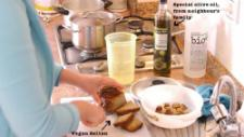 Many things come from local sources. The organic olive oil inside the supermarket bottle is made by a neighbour's family