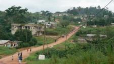 The village surrounded by rainforest, a lower ecological footprint life