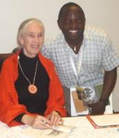 Denis and Dr. Goodall