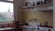 The kitchen was designed and installed by a neighbour and a friend