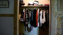 Anyone can leave clothes and use clothes from this closet. A great way to share clothes and have new ones with no cost